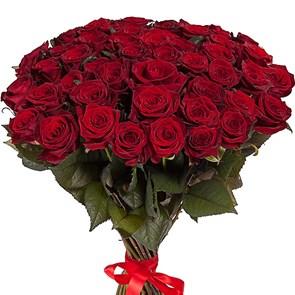 Букет красных роз 60/70 см