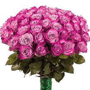 Букет роз Дип Пёрпл