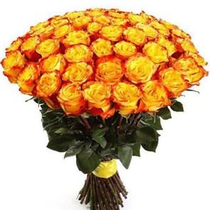 Букет роз High Yellow