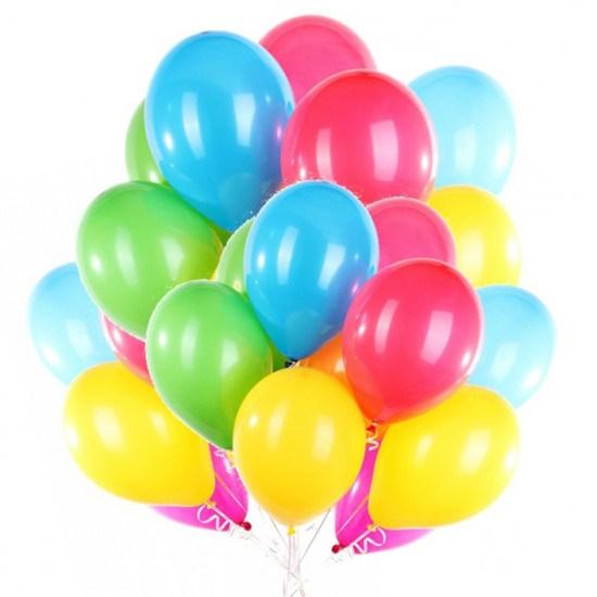 Облако воздушных шаров из 25 шт. - фото 6999