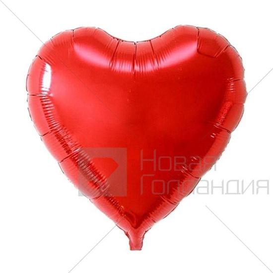 Воздушный шар сердце - фото 7005