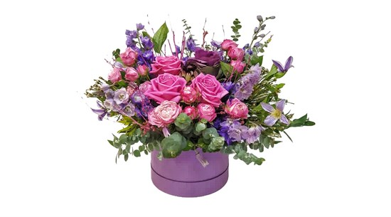 Композиция Фиолетовая Дымка - фото 7244