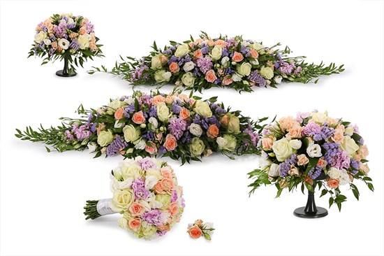 Свадебный комплект Нимфа (макси) - фото 7352