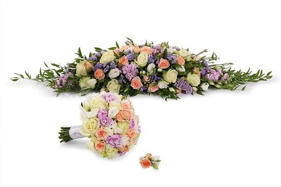 Свадебный комплект Нимфа (мини) - фото 7355