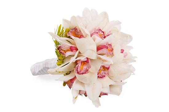 Букет невесты с орхидеями Леона - фото 7361