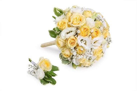 Букет невесты Ребекка - фото 7381