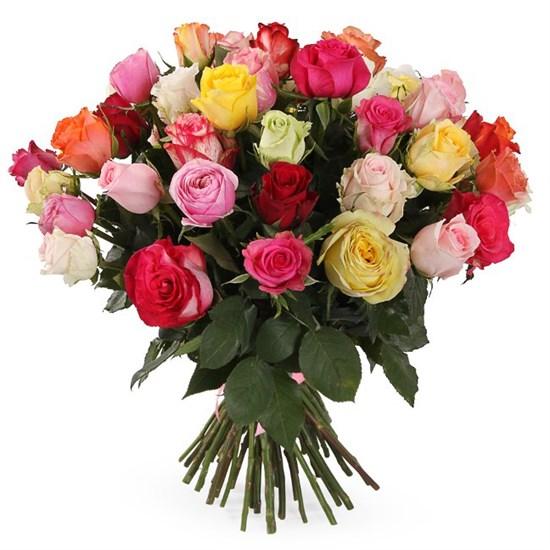 Букет Фламандская легенда 51 роза - фото 7767