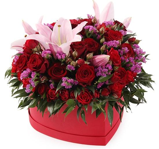 Букет с лилиями Рефрен - фото 7916