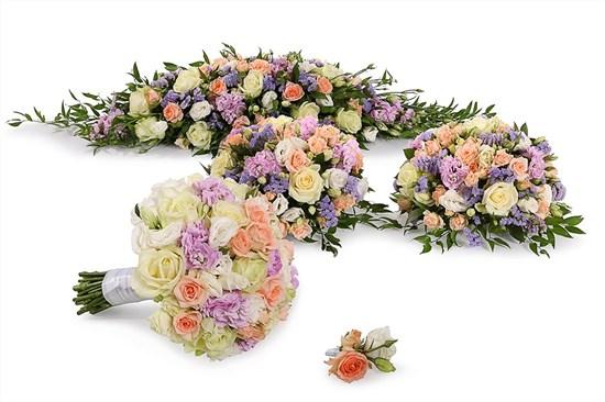 Свадебный комплект Нимфа (стандарт) - фото 7926