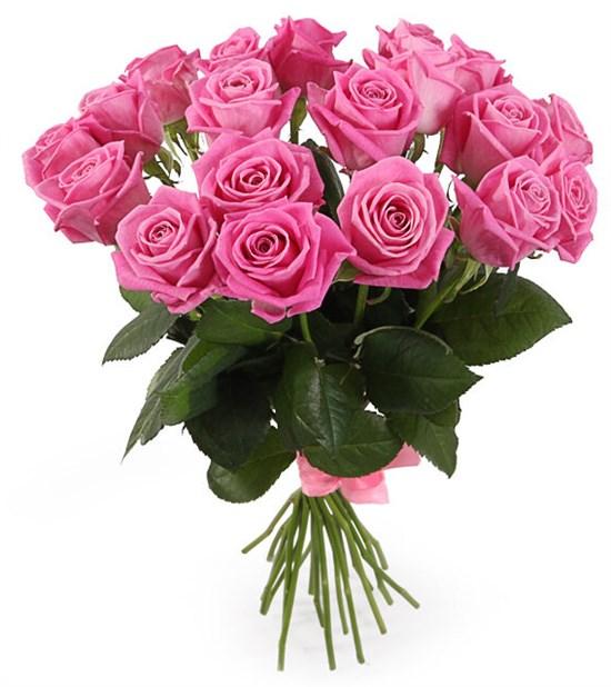 Букет 19 роз Аква - фото 7968