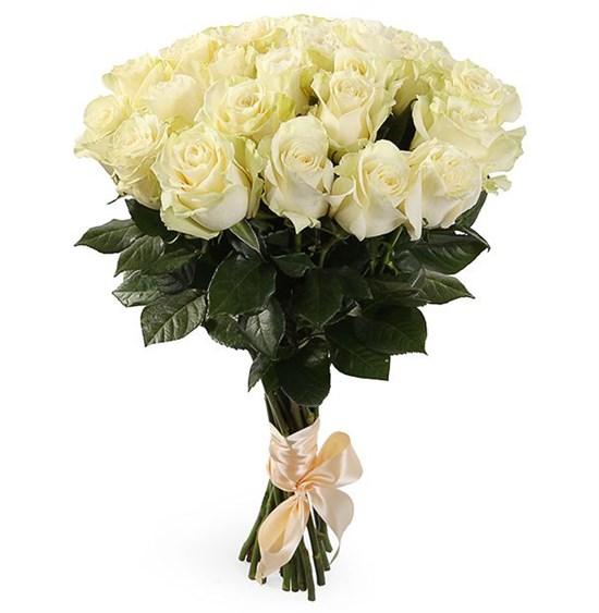 Букет 21 роза Мондиаль - фото 7973