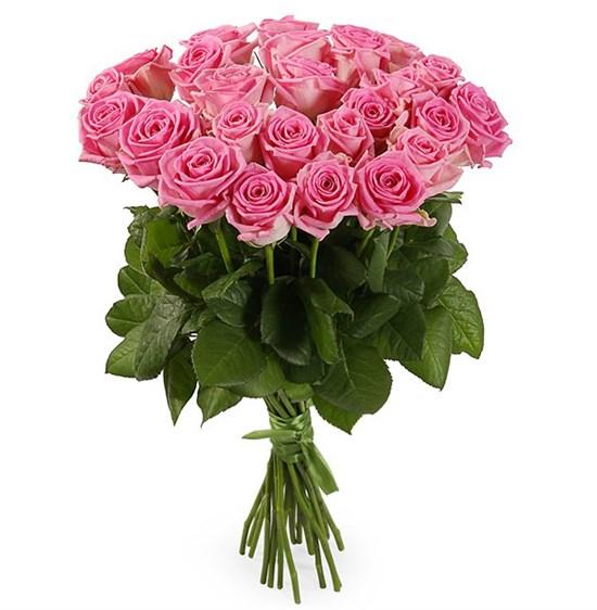 Букет 25 роз Аква - фото 7986