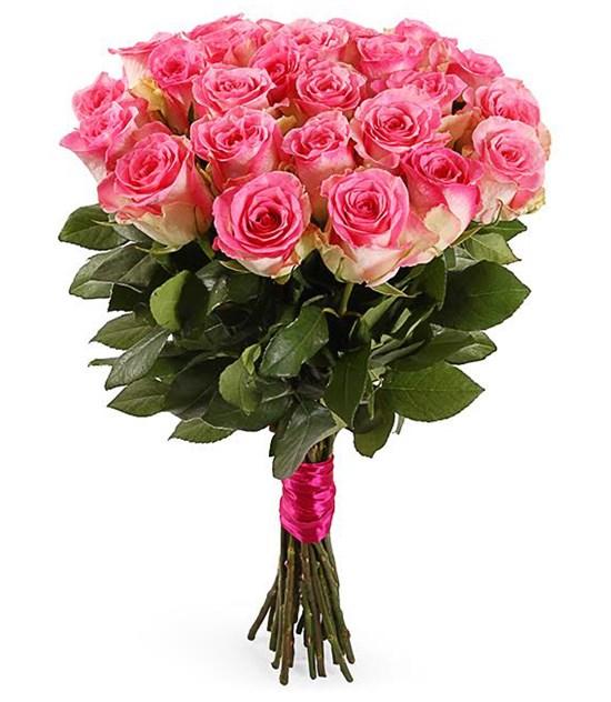 Букет 25 роз Малибу - фото 7990