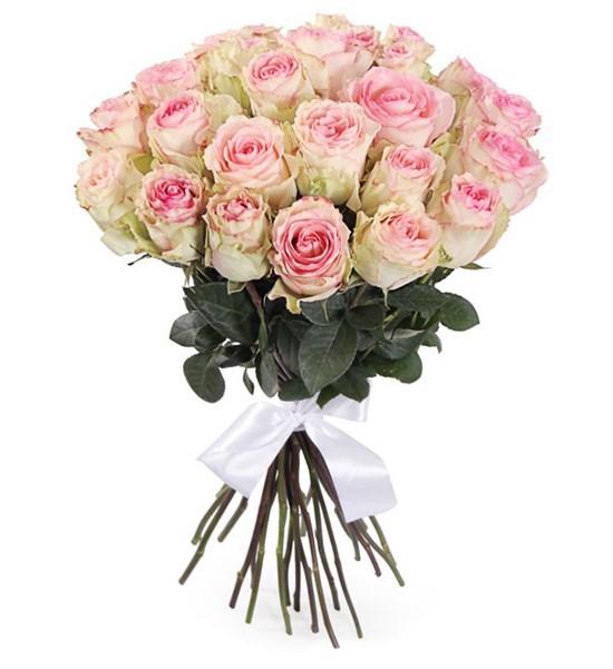 Букет 25 роз Эсперанс - фото 7999