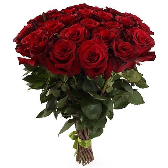 Букет 31 роза Ред Париж - фото 8017