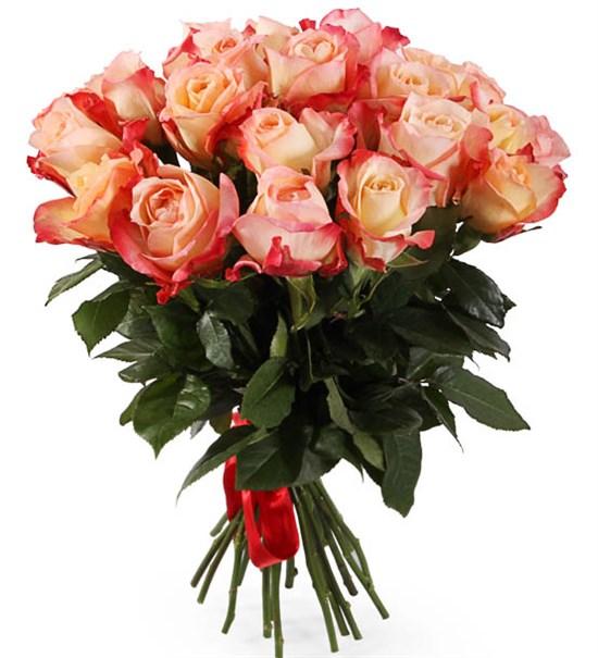 Букет 25 роз Кабаре - фото 8131