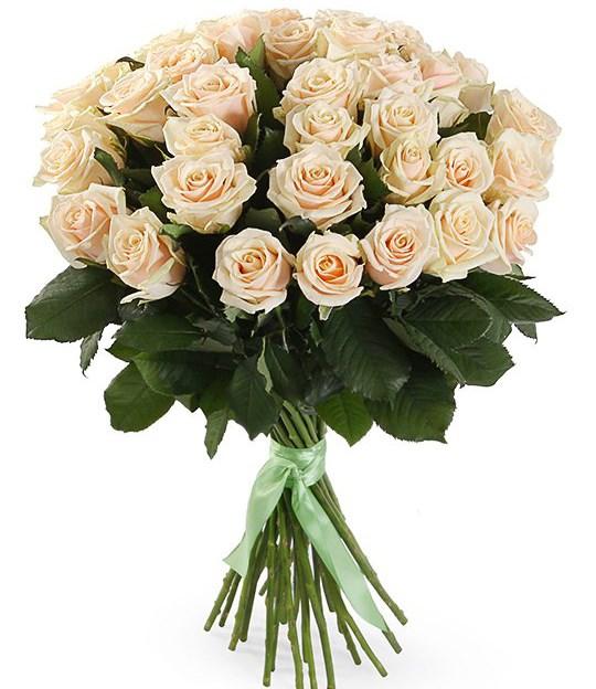 Букет 35 роз Талея - фото 8182