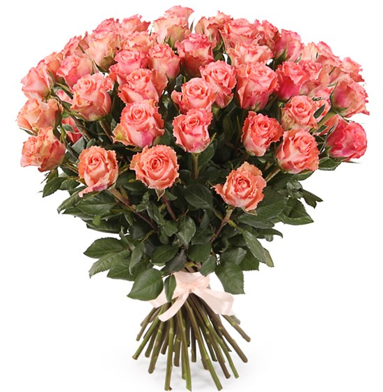 Букет 39 роз Дуэт Классик - фото 8189