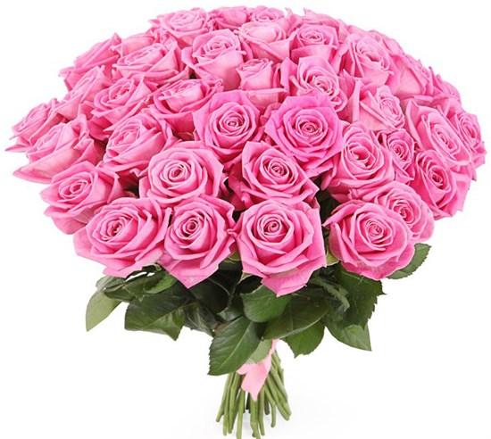 Букет 41 роза Аква - фото 8192