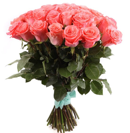 Букет 51 роза Амстердам - фото 8239