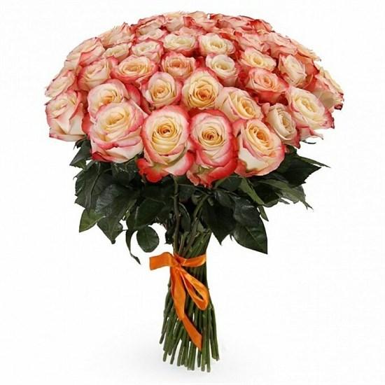 Букет 51 роза Кабаре - фото 8259