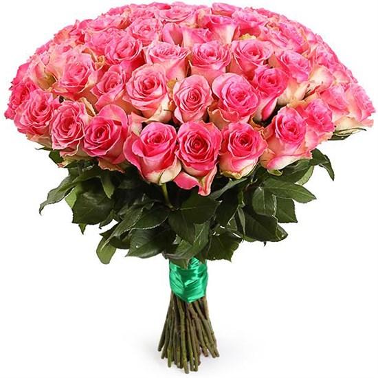 Букет 51 роза Малибу - фото 8264