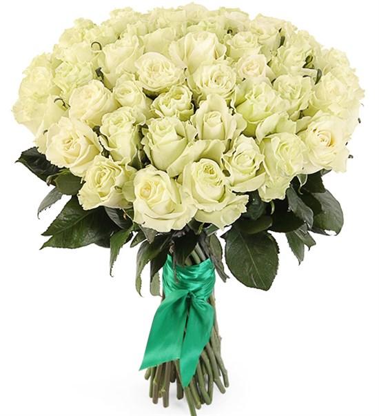 Букет 51 роза Мондиаль - фото 8269