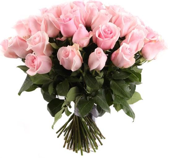 Букет 51 роза Титаник - фото 8279