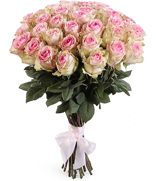 Букет 51 роза Эсперанс - фото 8287