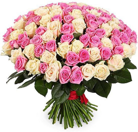 Букет Восхищение, 101 роза - фото 8337