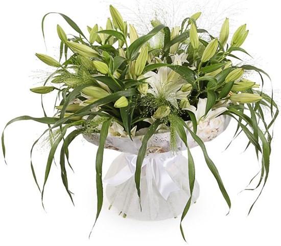 Букет с лилиями Беатриче - фото 8484