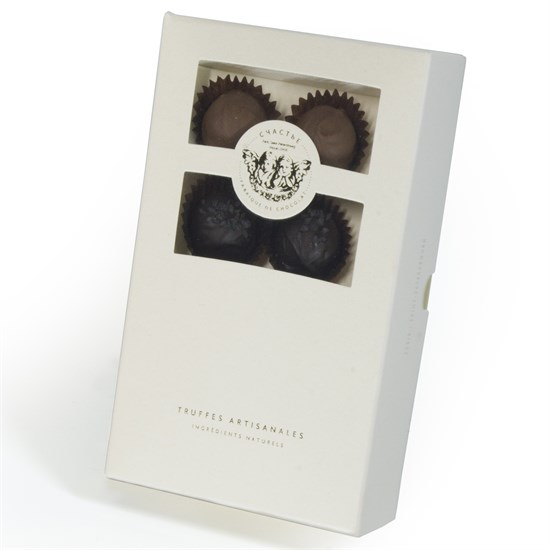 Счастье, набор из восьми трюфелей в шоколадной капсуле - фото 8611