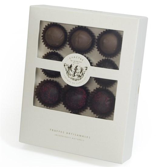 Счастье, набор из двенадцати трюфелей в шоколадной капсуле - фото 8620