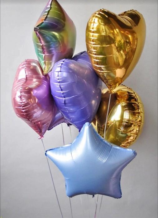 Букет из 7-ми шаров - фото 8634