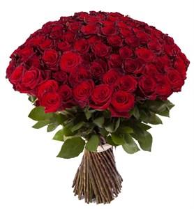 Букет из 101 красной розы Ред Париж