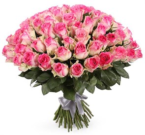 Букет 101 роза Малибу