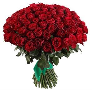 Букет 101 роза Хартс