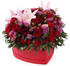 Букет с лилиями Рефрен