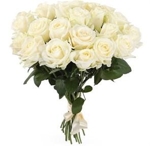 Букет 21 роза Аваланш 60/70 см