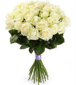 Букет 35 роз Аваланш 60/70 см