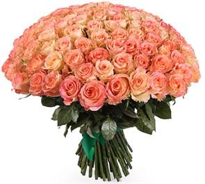 Букет 101 роза Дуэт Классик