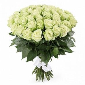 Букет 51 роза Грин Ти