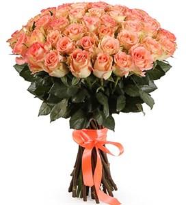 Букет 51 роза Дуэт Классик