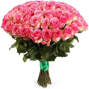 Букет 51 роза Малибу