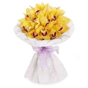 Букет из орхидей Ананасовое мороженое