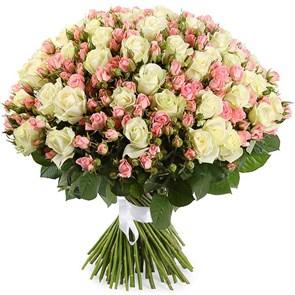 Букет Романтический вечер, 101 роза