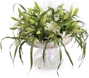 Букет с лилиями Беатриче