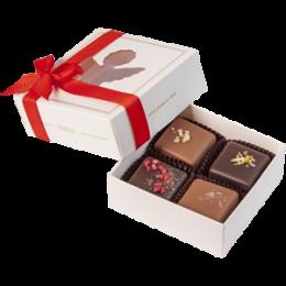 Счастье - домашний шоколад, 4 шт