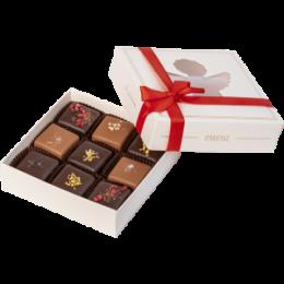 Счастье - домашний шоколад, 9 шт